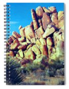 Sunset At Joshua Tree Spiral Notebook