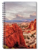 Sunset At Kodachrome Basin State Park Panorama Spiral Notebook