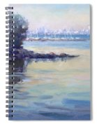 Sunset At Lake Ontario  Spiral Notebook