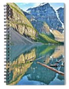 Sunset At Moraine Spiral Notebook