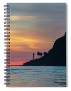 Sunset At Point Loma Spiral Notebook