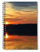 Sunset At Princess Point Spiral Notebook