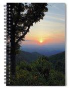 Sunset At Purgatory Mountain Spiral Notebook