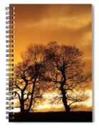 Sunset At Redhill Spiral Notebook