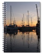 Sunset At St. Marys Spiral Notebook