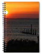 Sunset At St.marks Nwf Spiral Notebook