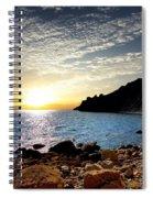 Sunset At The Black Sea Coast. Crimea Spiral Notebook