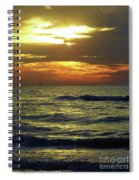 Sunset At The Gulf Spiral Notebook