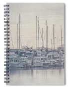 Sunset At The Marina Spiral Notebook