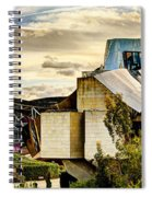 sunset at the marques de riscal Hotel - frank gehry Spiral Notebook