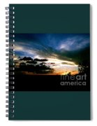 Sunset At The North Rim Spiral Notebook