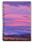 Sunset At The Ranch - Patagonia Spiral Notebook