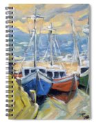 Sunset Bay Spiral Notebook
