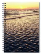 Sunset Beach In Florida Paradise Spiral Notebook