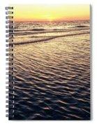 Sunset Beach In Florida Paradise Spiral Notebook