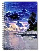 Sunset Beach Park Spiral Notebook