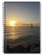 Sunset Beauty Spiral Notebook