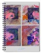 Sunset Boulevard In Reverse Spiral Notebook