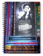Sunset Boulevard On Broadway Spiral Notebook