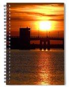 Sunset Bridge Spiral Notebook