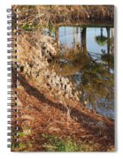 Sunset By The Water Spiral Notebook