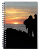 Sunset California Coast Spiral Notebook