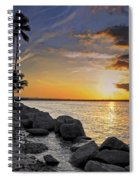 Sunset Caribe Spiral Notebook