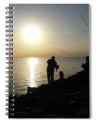 Sunset Catch, Nanticoke, Maryland Spiral Notebook