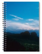 Sunset Cathedral Rock Sedona Arizona Spiral Notebook