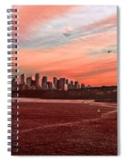 Sunset City Spiral Notebook