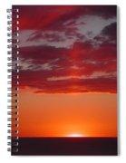 Sunset Cliffs Spiral Notebook