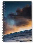 Sunset Clouds Reflect Spiral Notebook