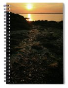 Sunset Coast Spiral Notebook