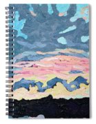 Sunset Cold Front Spiral Notebook