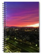 Sunset Colors  Spiral Notebook