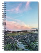 Sunset Colors In Oregon Spiral Notebook