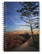 Sunset Colours Bryce Canyon 3 Spiral Notebook