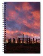 Sunset Corral Spiral Notebook