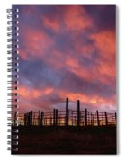 Sunset Corral Spiral Notebook