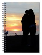 Sunset Couple Spiral Notebook