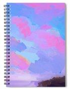 Sunset Cove  Spiral Notebook