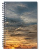 Sunset Creve Coeur Lake St Louis Mo 1x2 Ratio Img_5073 Spiral Notebook