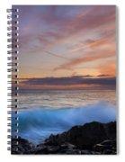 Sunset Curl Spiral Notebook