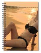 Sunset Desire Spiral Notebook