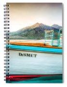 Sunset Dinner Cruise Spiral Notebook