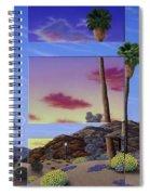 Sunset Door Spiral Notebook