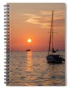 Sunset Dreams - Florida Spiral Notebook
