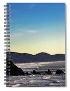 Sunset Eagle Spiral Notebook