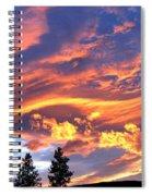Sunset Extravaganza Spiral Notebook
