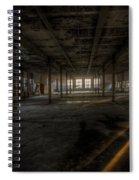 Sunset Factory Spiral Notebook
